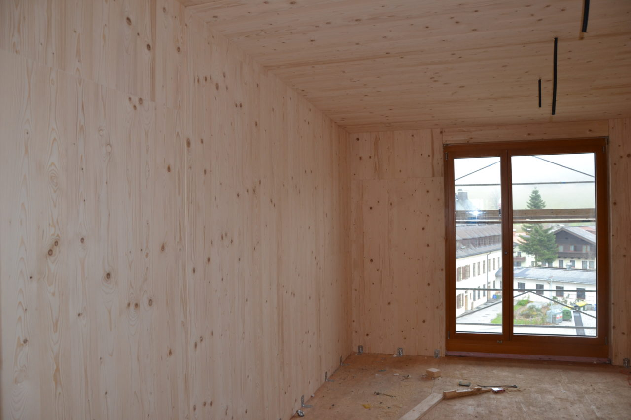 Holzmassiv Holzhaus