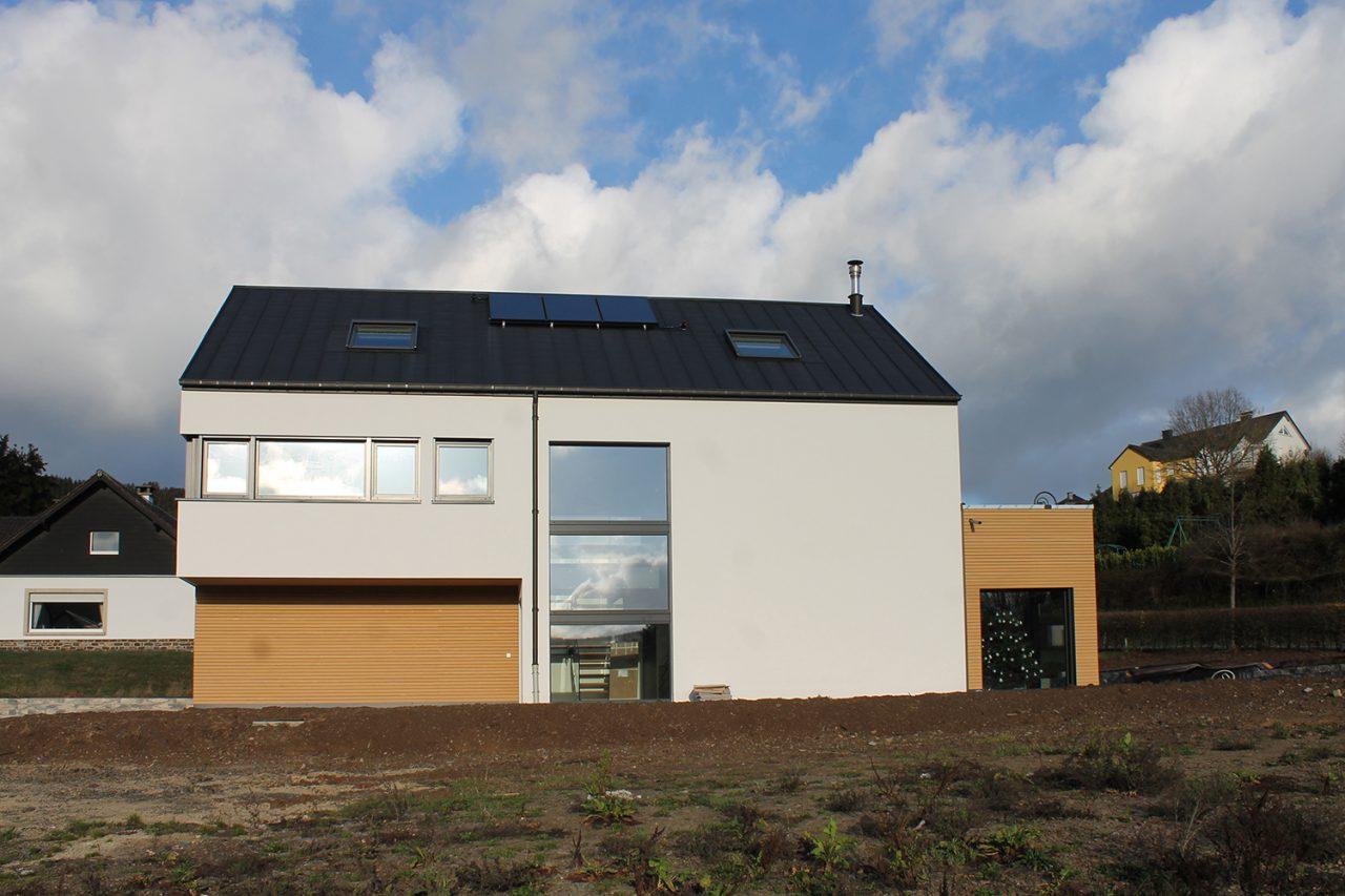 Neubau Putzfassade