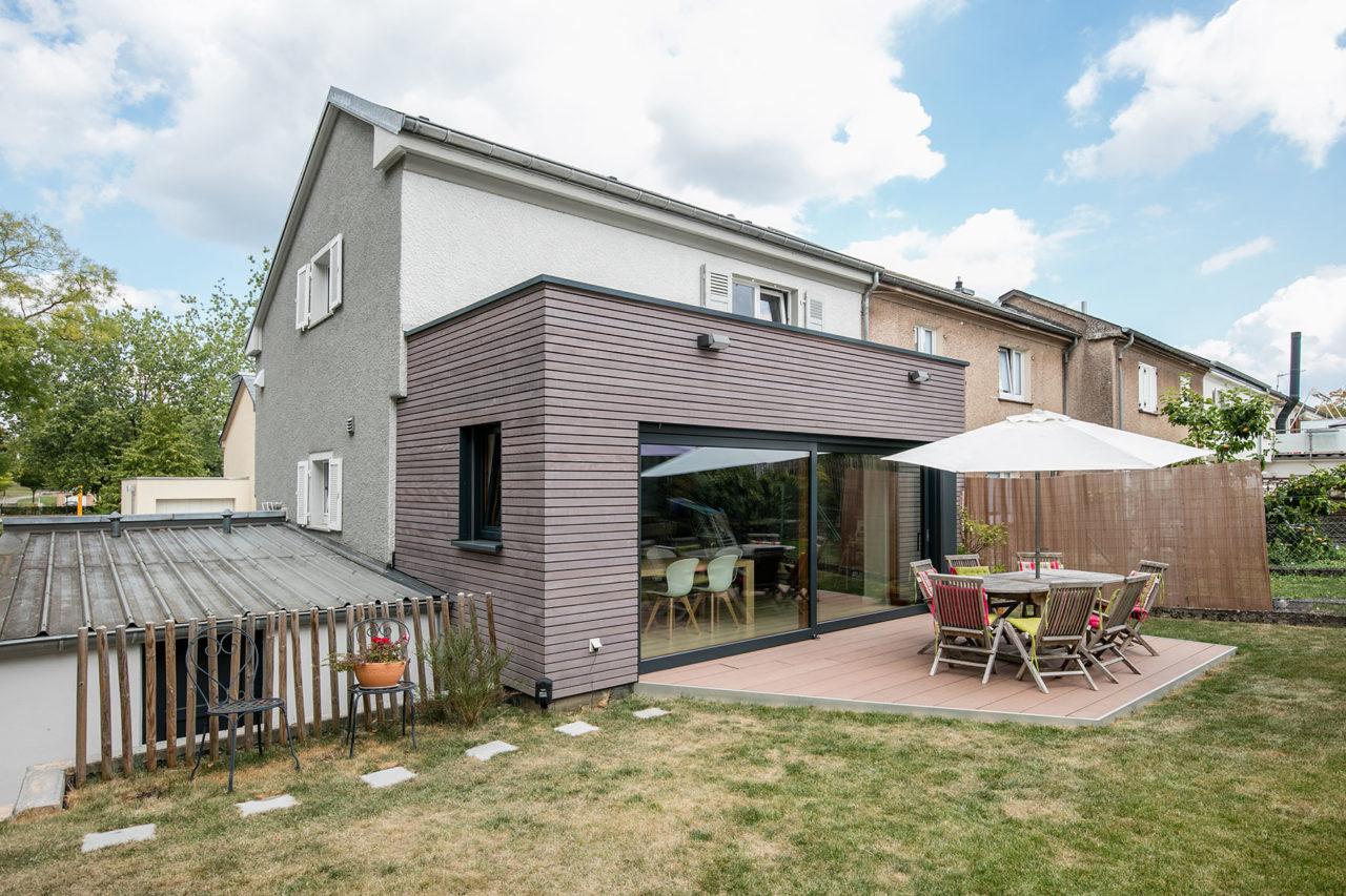 Eco Home Systems Anbau Schlüsselfertig Luxemburg