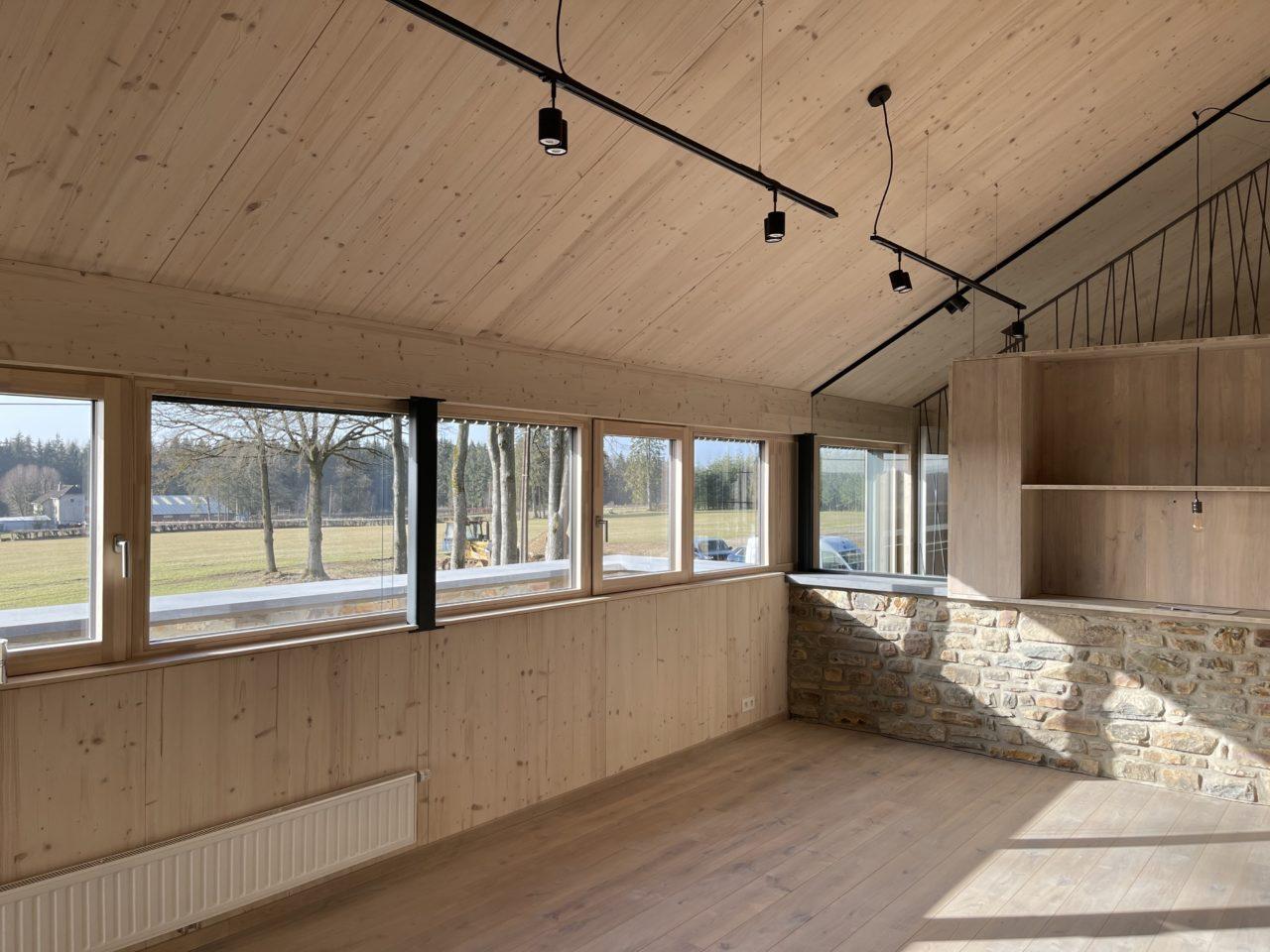 Massivholz Bau Eco Home Systems